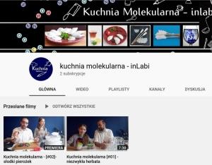 Kanał kuchnii molekularnej